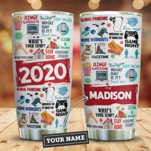 2020 Features For You Personalized KD2 Custom Personalized Tumbler ZB38079