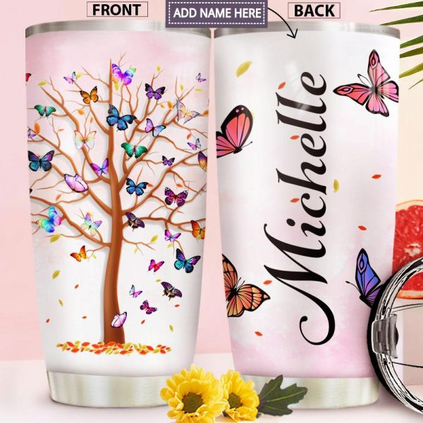 Butterfly Personalized Custom Personalized Tumbler ZD3324