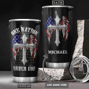 Personalized American Wings Faith Custom Personalized Tumbler MY49130