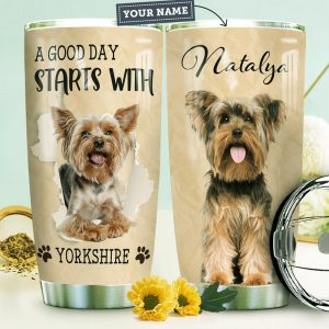 Yorkshire KD4 Personalized Custom Personalized Tumbler PV51506